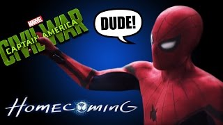 Captain america civil war tv spot #30 İncelemesi - spiderman vs bucky!