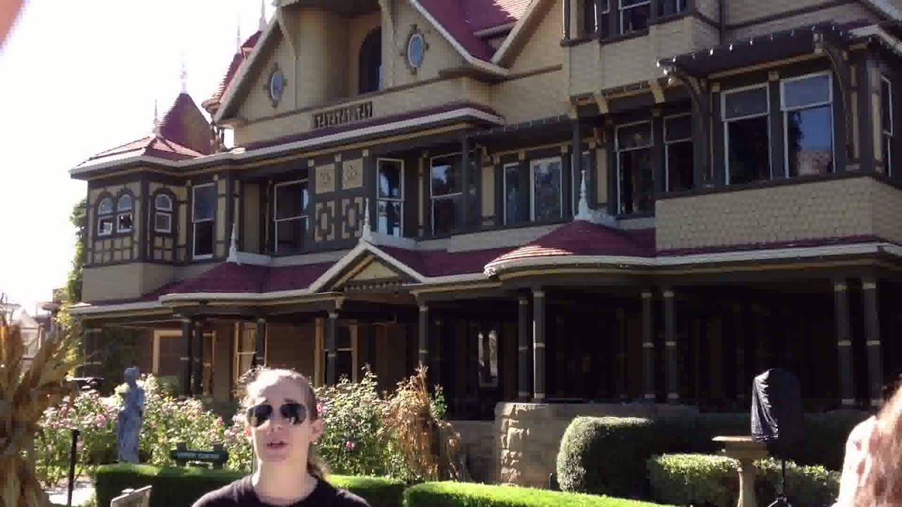 Winchester mystery house november 3 2012 youtube for Online house tours