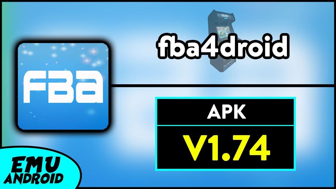 Emulador 'fba4droid' Para Android | v1 74 | APK