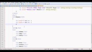 HTML Tutorial 10 - Linking to an ID or Internal Links