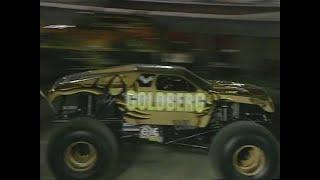 Goldberg vs Gunslinger Monster Jam World Finals Racing Championship 2000
