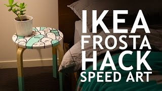 Speed Art - Ikea Frosta Hack Project