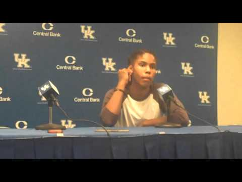 UK Hoops Players Post Game vs Morehead State Part 1