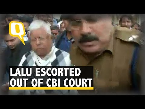 Lalu Prasad Yadav Escorted Out of CBI Court After Conviction in Fodder Scam | The Quint