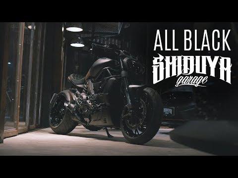 DIAVEL ALL BLACK | SHIBUYA GARAGE