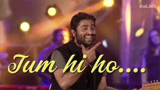 Emotional Performance | Arijit Singh Live | Tum hi ho| Must Watch