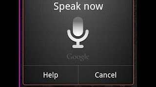 Voice commands for Android Bluetooth headset