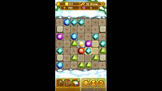 Gemcrafter: Puzzle Journey - iOS & Android Gameplay & Walkthrough for Mountains Level 26