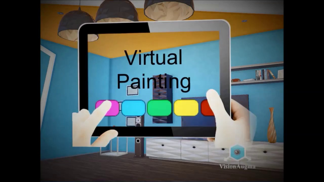 paint your home using virtual reality youtube. Black Bedroom Furniture Sets. Home Design Ideas