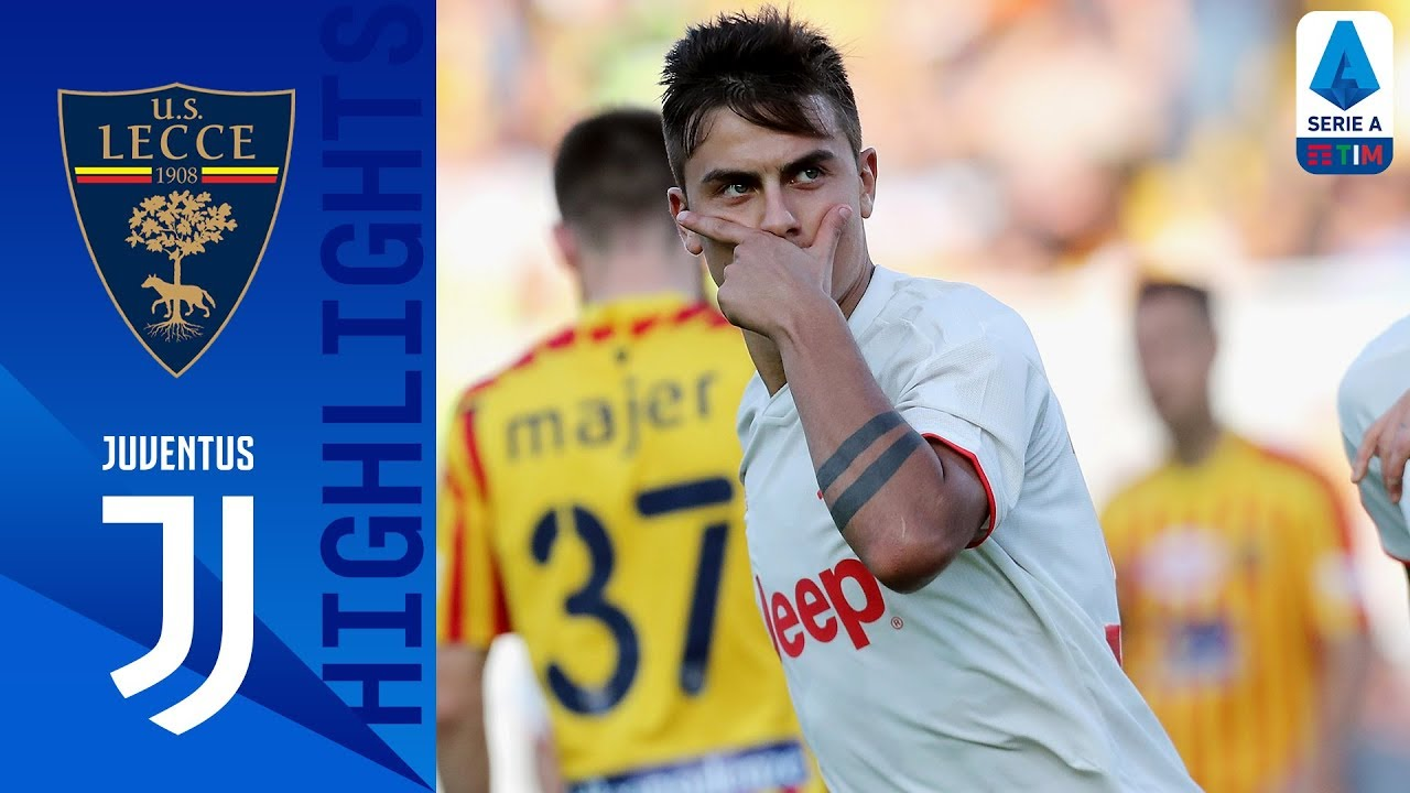 Lecce 1-1 Juventus | Juve Held In Game of Two Penalties | Serie A