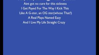Eazy E Ft 2pac Real Thugs Lyrics