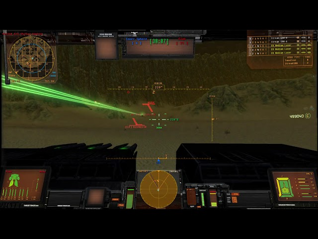 Mechwarrior Living Legends 2020 ThreeV3 Preview Round Map 5 Solaria