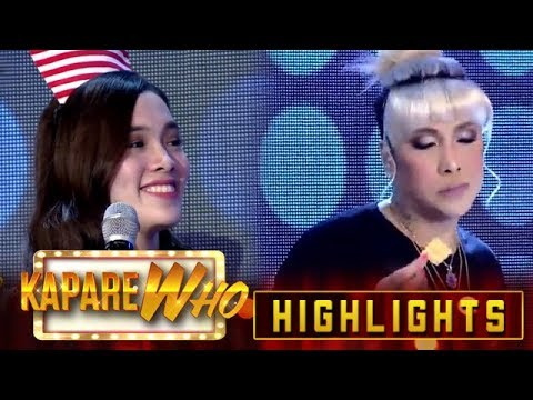 Vice Ganda ignores Ate Girl Jackque | It's Showtime KapareWho