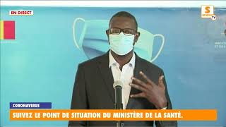 """Coronavirus"" situation: Mamadou Beye Pr Anesthésie Réanimation Directeur SAMU National"