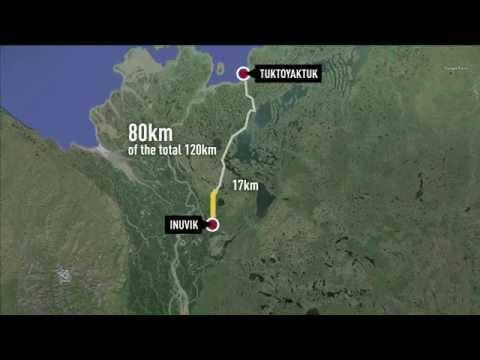 Tuktoyaktuk/Inuvik Highway behind schedule
