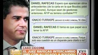 C5N - POLITICA: LOS MENSAJES ENTRE RAFECAS Y EL ALLEGADO DE BOUDOU