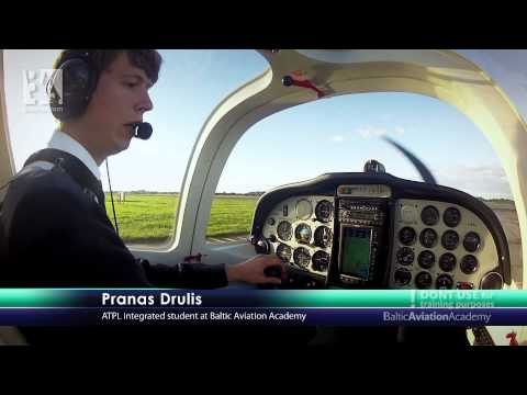 Baltic Aviation Academy's Tecnam: From Taxiing to Landing