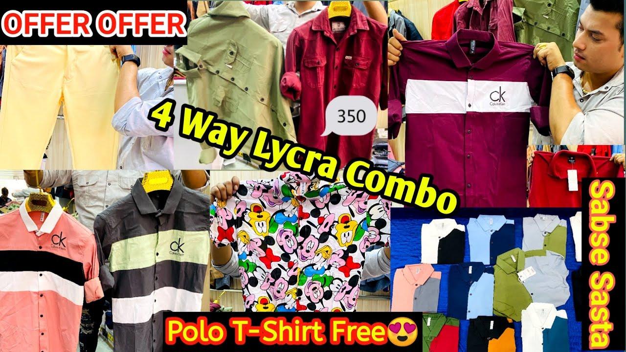 Cheap & High Quality | Lycra Combo | Cargo Shirts | Rayon Shirts | Lycra Pants | Wholesale & Retail