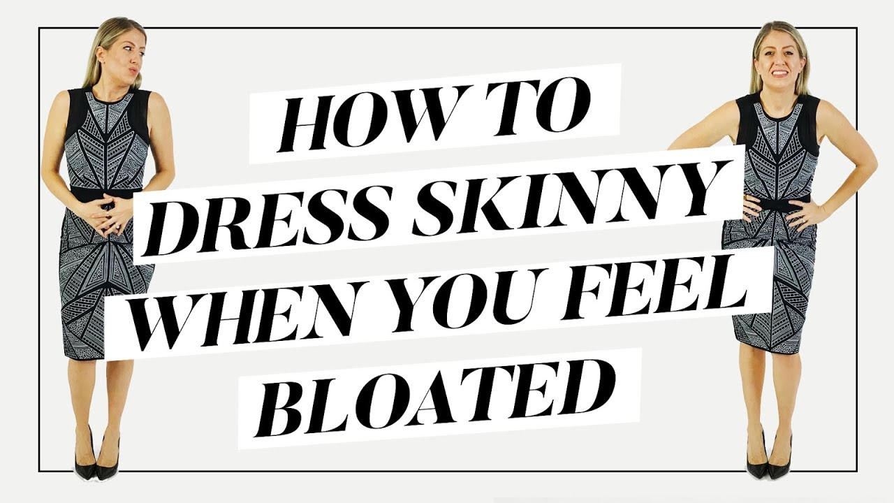 cc39f01c6882a How To Dress Skinny when You Feel Fat | Style Tips - YouTube