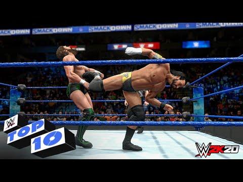 WWE 2K20 - Top 10 Friday Night SmackDown Moments   Nov. 1, 2019