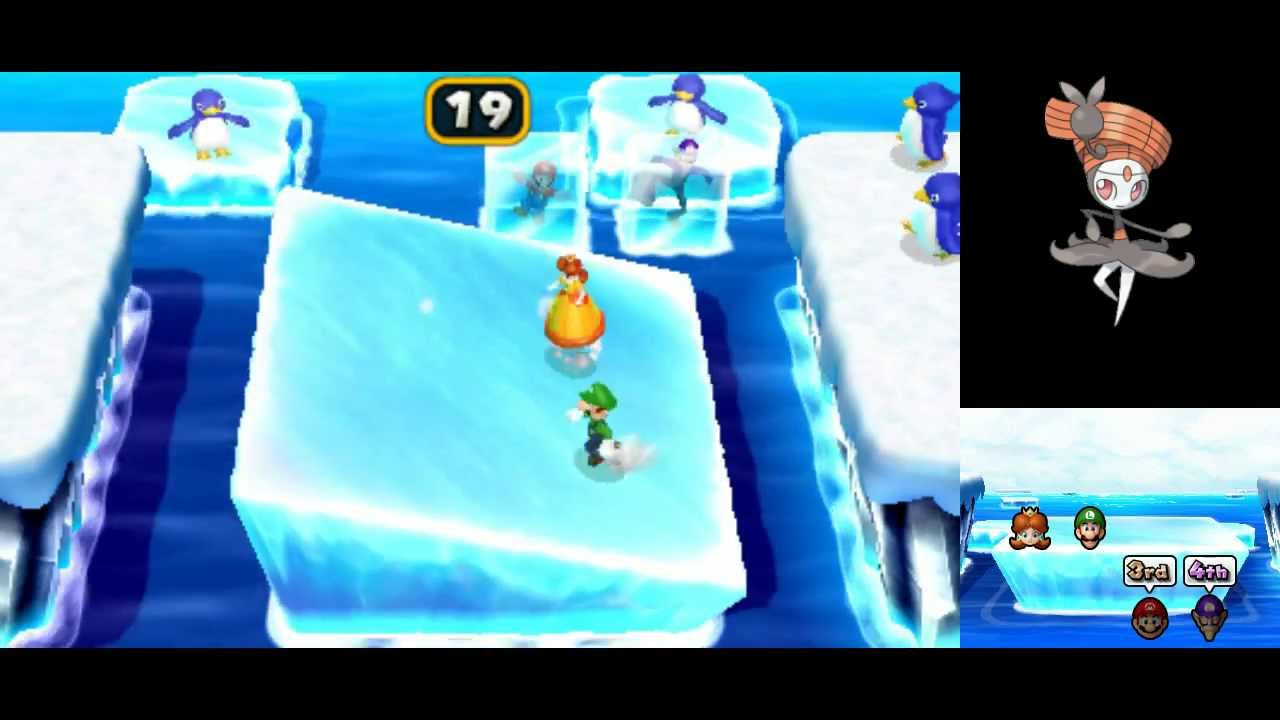 Mario Party Island Tour All Minigames Part