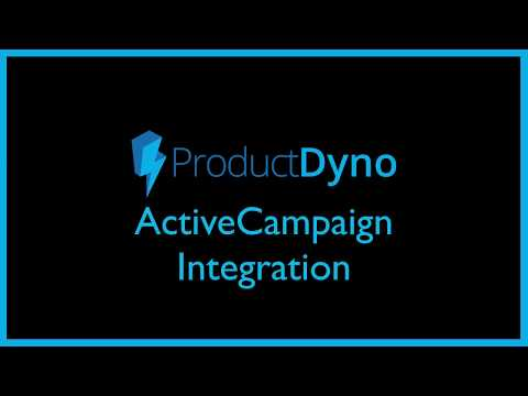 ProductDyno + Active Campaign Integration   Product Dyno