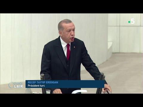 Erdogan défie le monde...et Poutine - Reportage #cdanslair 08.10.2020