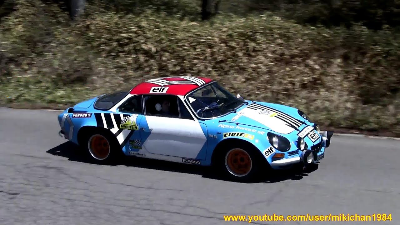 alpine a110 group 4 works rally car a110 4 2017 youtube. Black Bedroom Furniture Sets. Home Design Ideas