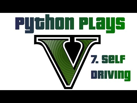 Self-driving Car - Python plays Grand Theft Auto 5 p.7