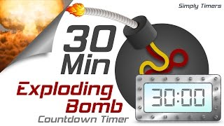Video 30 min exploding countdown timer download MP3, 3GP, MP4, WEBM, AVI, FLV November 2018