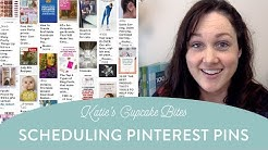 Schedule Pinning in Pinterest - How to Schedule Pins on Pinterest