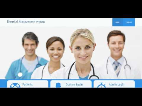 Hospital Management System In Php Free Download