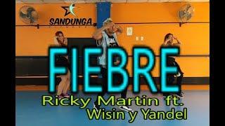 Fiebre - Ricky Martin ft Wisin y Yandel - Coreografia Sandunga