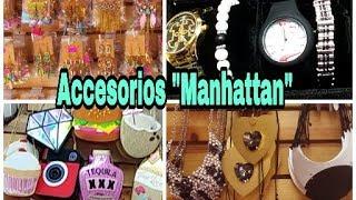 Accesorios manhattan/bisuteria de moda/relojes/ bolsas y mas