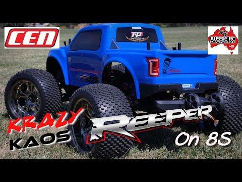 Krazy Kaos Reeper first run on 8S
