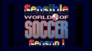 Sensible World of Soccer 96/97 Longplay - Amiga - Part 1