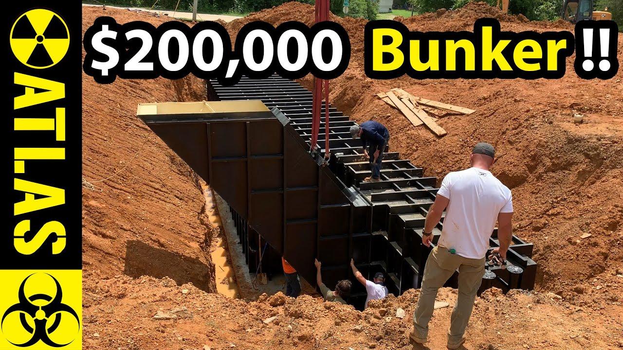 A $200,000 Luxury Bomb Shelter Under a Home - Atlas 10x40' Platinum Series Safe Cellar