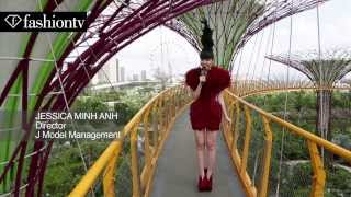 FashionTV: Behind the scene of J Spring Fashion Shoot photo shoot at Gardens by the Bay by Jessica Minh Anh