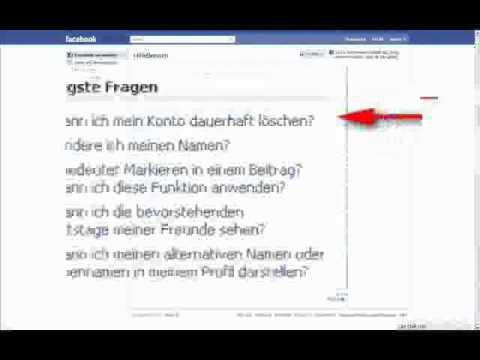Candidate Account Löschen