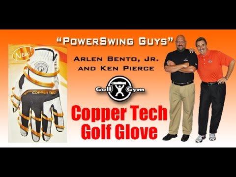 NEW Copper Tech Compression Golf Glove