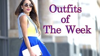Spring Outfits of The Week  #OOTW | Elizabeth Keene