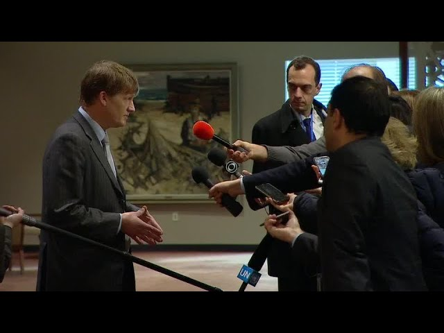 The UK on the desperate humanitarian situation in Syria -  Media Stakeout (29 November 2018)