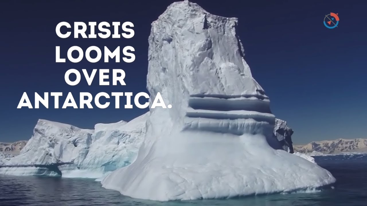 Dramatic Video Captures Moment Towering Iceberg Splits from Greenland Glacier