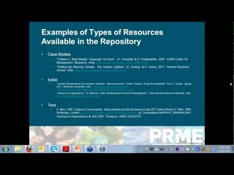 PRME Webinar on Gender Equality