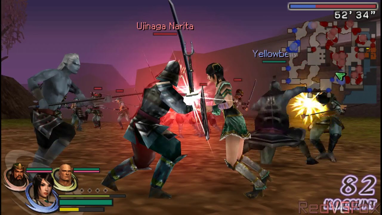 download game psp warriors orochi 2