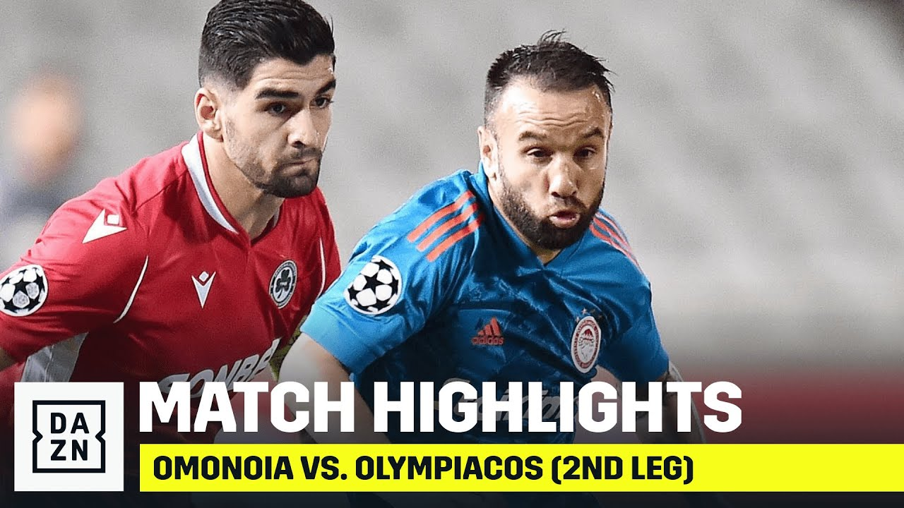 HIGHLIGHTS | Omonoia vs. Olympiacos (UCL Playoffs: Second Leg)