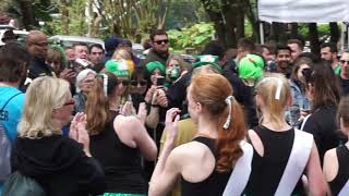 Watch an NOPD officer learn to dance an Irish jig on St. Patrick's Day