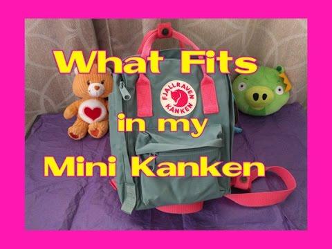 cd6038f07e3 Fjallraven Kanken Frost Green   Peach Pink - YouTube