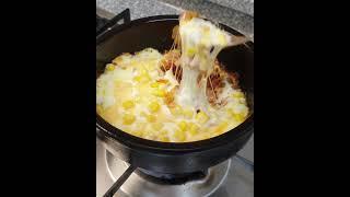 (1분 요리) 치즈폭탄 김치 볶음밥