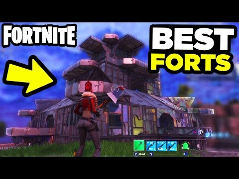 Top 5 BEST Forts In Fortnite Battle Royale!